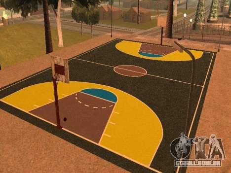 Nova quadra de basquete para GTA San Andreas segunda tela