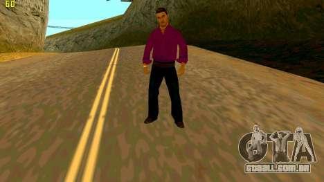 A nova textura shmycr para GTA San Andreas