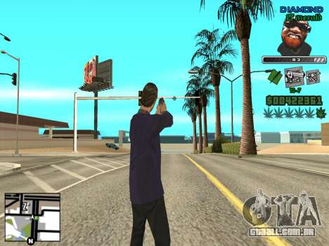 C-HUD by Misterio para GTA San Andreas terceira tela
