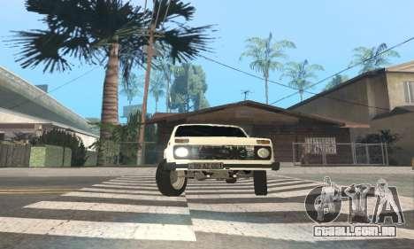 VAZ 21214 Avtosh para GTA San Andreas vista interior