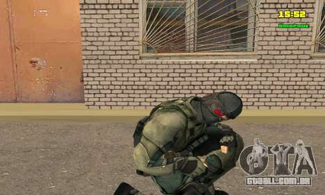 Кестрел Splinter Cell Conviction para GTA San Andreas terceira tela