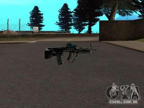 Um Novo Pack De Armas para GTA San Andreas por diante tela