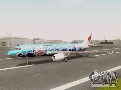 Airbus A320 Air China para GTA San Andreas
