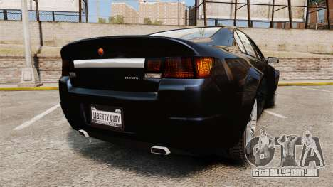 GTA V Cheval Fugitive para GTA 4 traseira esquerda vista