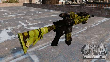 Automatic rifle Colt M4A1 para GTA 4 segundo screenshot
