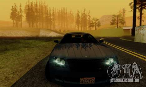 Fusilade GTA V para vista lateral GTA San Andreas