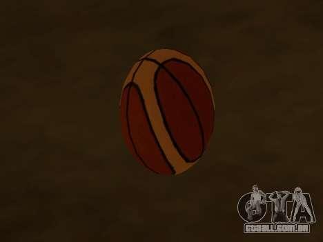 Novo basquete empresa de Fundição para GTA San Andreas segunda tela
