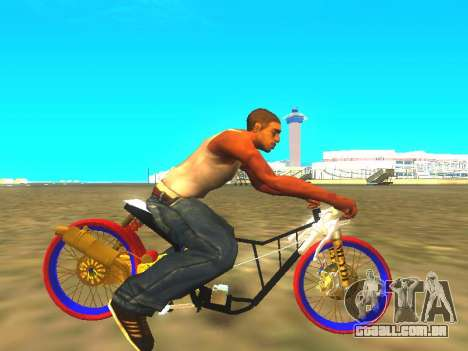 Drag Mio Full GOLD para GTA San Andreas vista direita