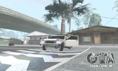 VAZ 21214 Avtosh para GTA San Andreas esquerda vista