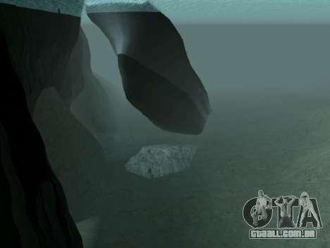 Naufrágio Final v2.0 para GTA San Andreas por diante tela