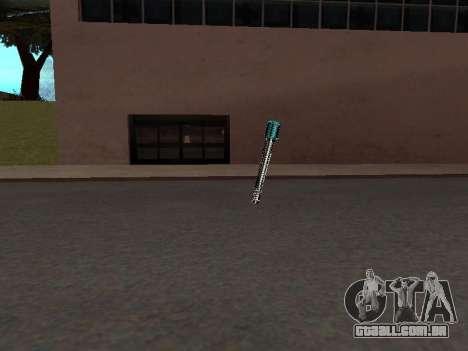Um Novo Pack De Armas para GTA San Andreas sexta tela