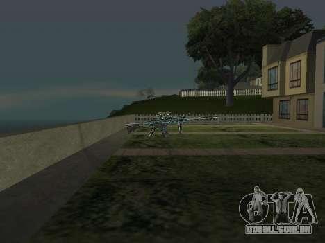 Um Novo Pack De Armas para GTA San Andreas quinto tela
