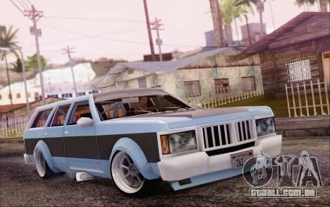Regina Widebody V8 para GTA San Andreas
