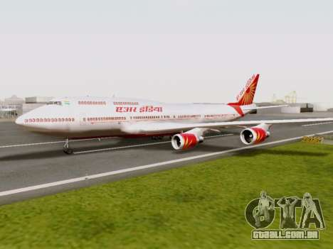 Boeing 747 Air India para GTA San Andreas