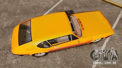 Volkswagen SP2 para GTA 4 vista direita