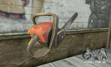 Motosserra para GTA San Andreas segunda tela