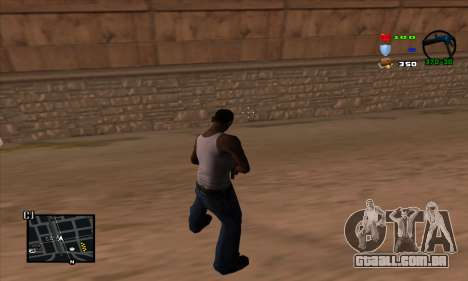 C-HUD Lite para GTA San Andreas segunda tela