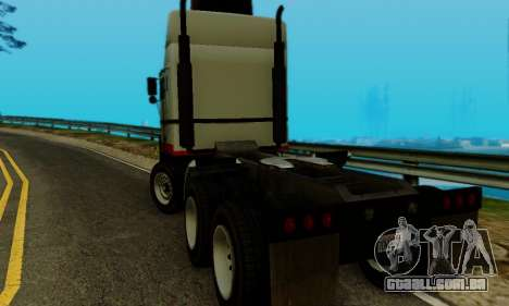 Hauler GTA V para GTA San Andreas esquerda vista