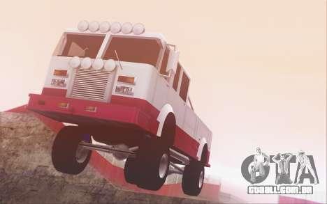 Offroad Firetruck para GTA San Andreas