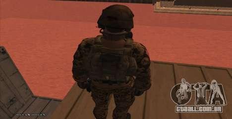 Global Defense Initiative Soldier para GTA San Andreas sétima tela