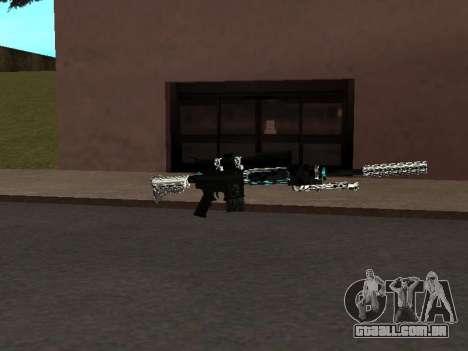 Um Novo Pack De Armas para GTA San Andreas terceira tela