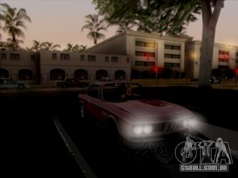 BMW 3.0 CSL 1971 para vista lateral GTA San Andreas