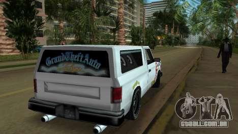 Bobcat Turbo para GTA Vice City vista lateral