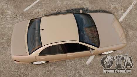Dinka Chavos new wheels para GTA 4 vista direita