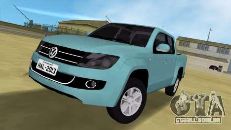 Volkswagen Amarok 2.0 TDi AWD Trendline 2012 para GTA Vice City