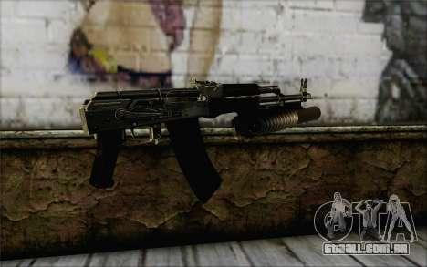 AK47 para GTA San Andreas segunda tela