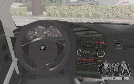 BMW M3 E36 Hellaflush para GTA San Andreas vista direita