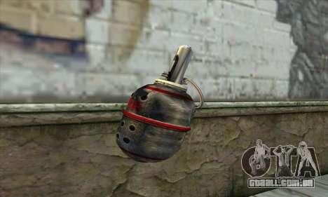 Granada de Stalker para GTA San Andreas segunda tela