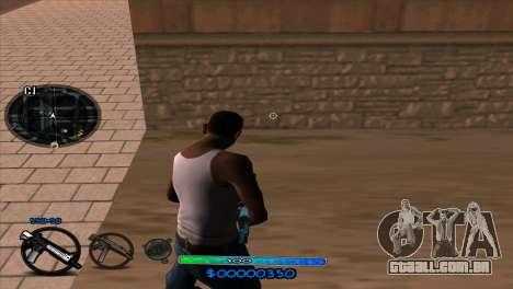 C-HUD Slow para GTA San Andreas segunda tela
