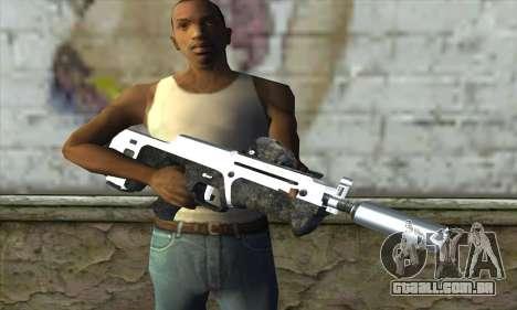 F6 Assault Rifle para GTA San Andreas terceira tela
