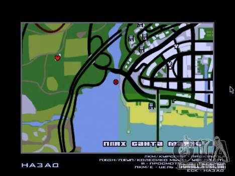Naufrágio Final v2.0 para GTA San Andreas quinto tela