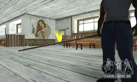 Pool cue para GTA San Andreas terceira tela
