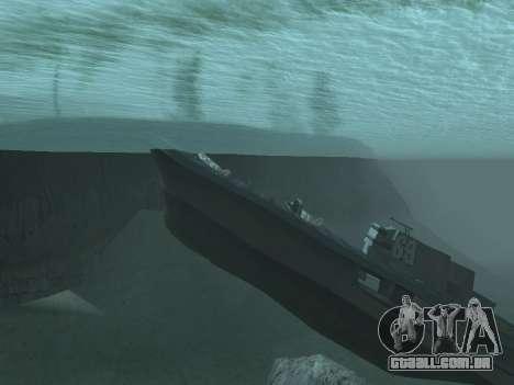 Naufrágio Final v2.0 para GTA San Andreas segunda tela