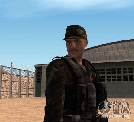 Army HD para GTA San Andreas terceira tela