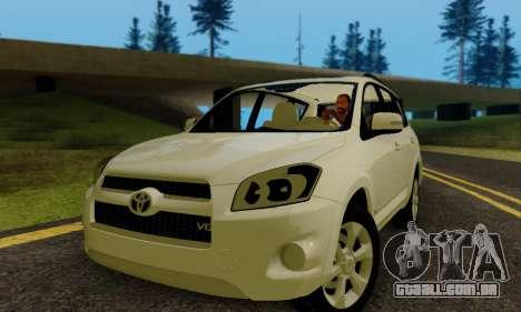 Toyota RAV4 para GTA San Andreas esquerda vista