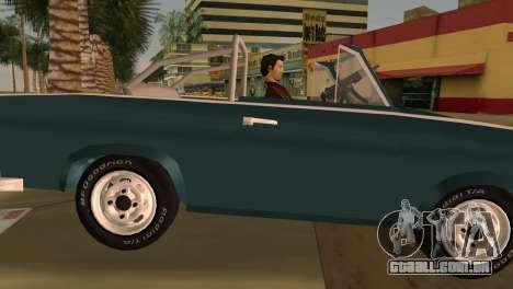 Trabant 601 Custom para GTA Vice City vista traseira esquerda
