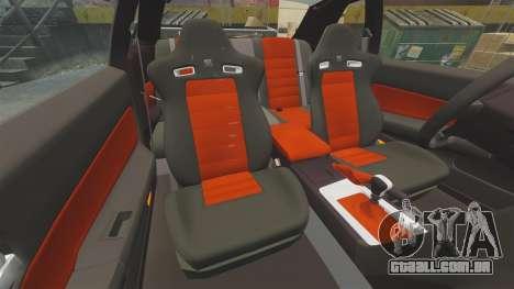 Nissan Skyline GT-R R34 V-Spec II para GTA 4 vista superior