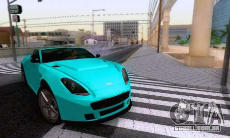 GTA V Rapid GT Cabrio para vista lateral GTA San Andreas