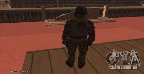 Global Defense Initiative Soldier para GTA San Andreas terceira tela