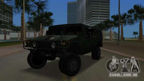 Hummer H1 Wagon para GTA Vice City