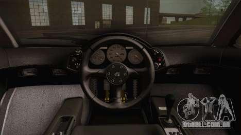 McLaren F1 para GTA San Andreas vista traseira