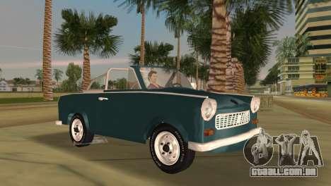 Trabant 601 Custom para GTA Vice City