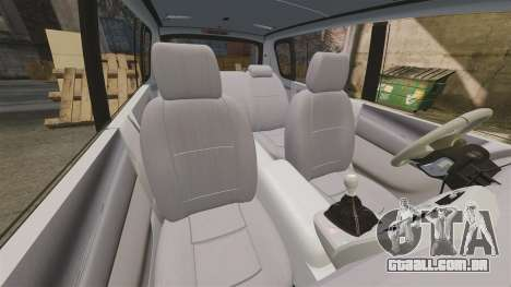 Renault Espace Police Nationale [ELS] para GTA 4 vista lateral