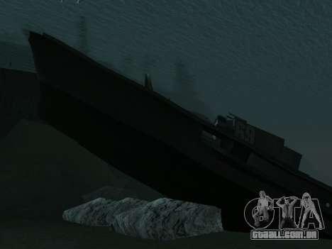 Naufrágio Final v2.0 para GTA San Andreas terceira tela