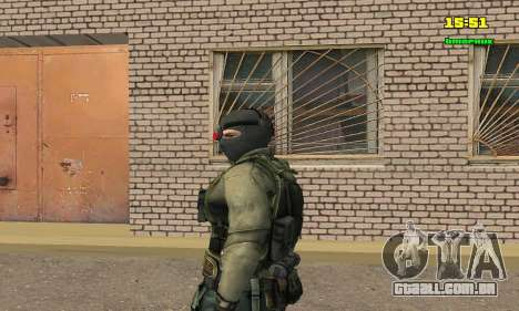 Кестрел Splinter Cell Conviction para GTA San Andreas segunda tela