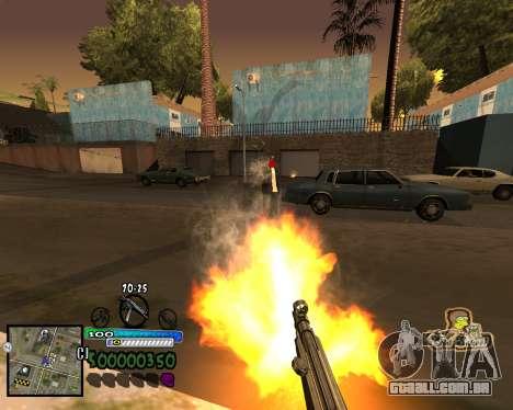 Vista da primeira pessoa para GTA San Andreas